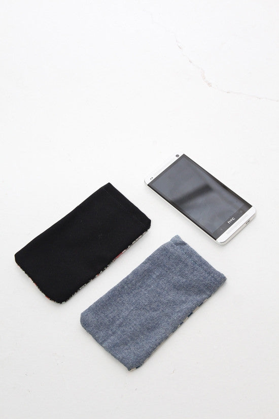 Silver Lined Phone Covers