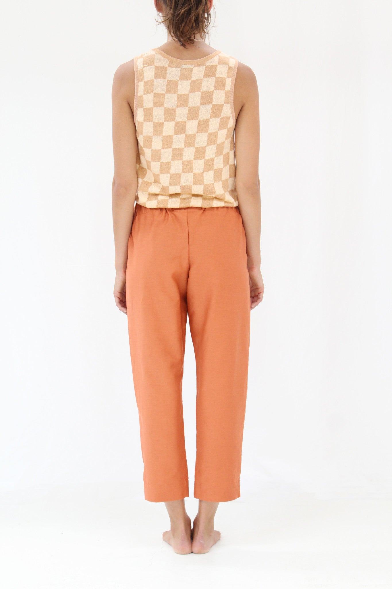 Lina Rennell Basic Pant Clay