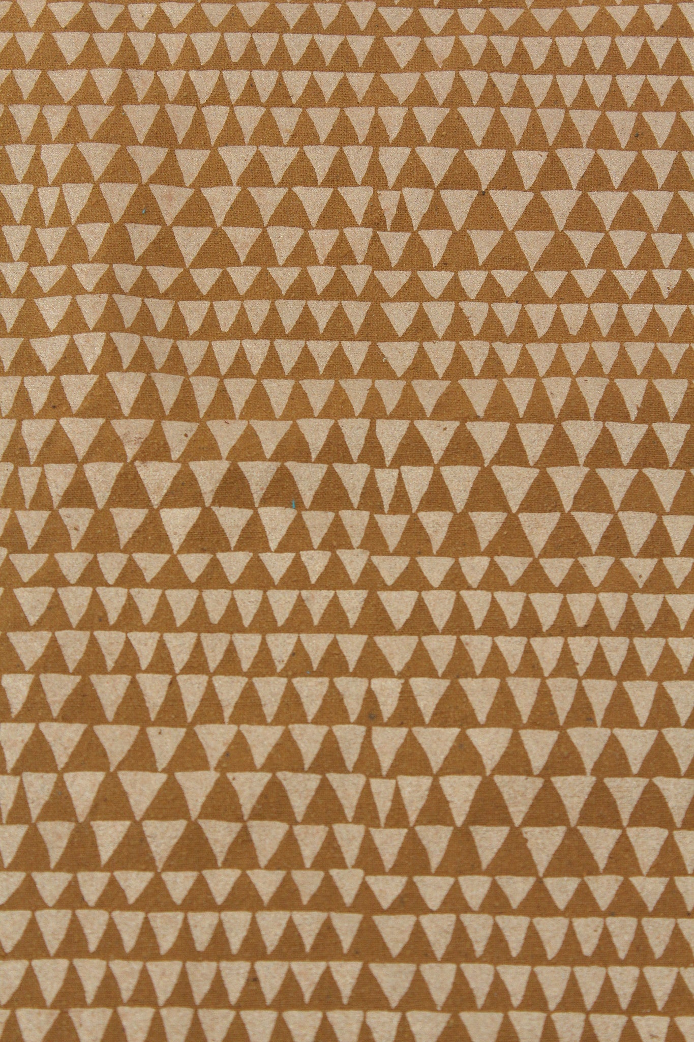 Lina Rennell Yardage Copper Triangle Silk Noil Bronze