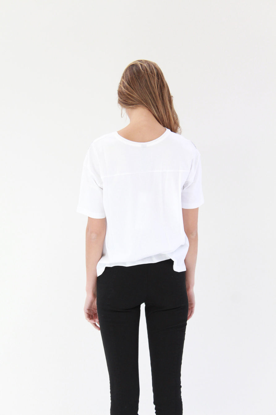 Beklina Kowtow Counting Sticks Tee