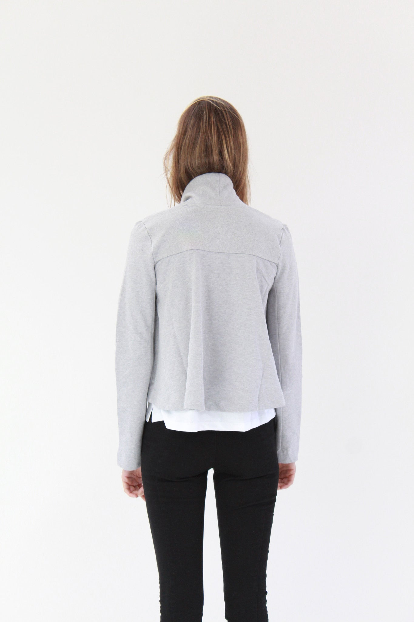 Beklina Kowtow Boundless Cardigan Grey