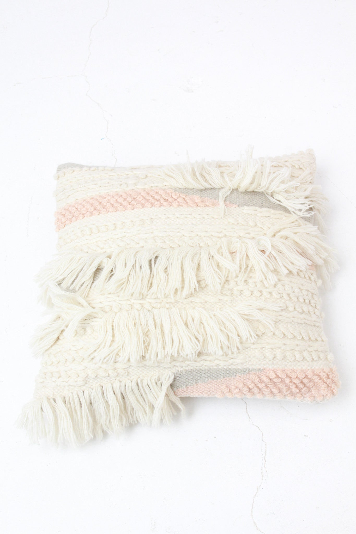 Beklina Elizabeth Pillow One With Fringe / Minna