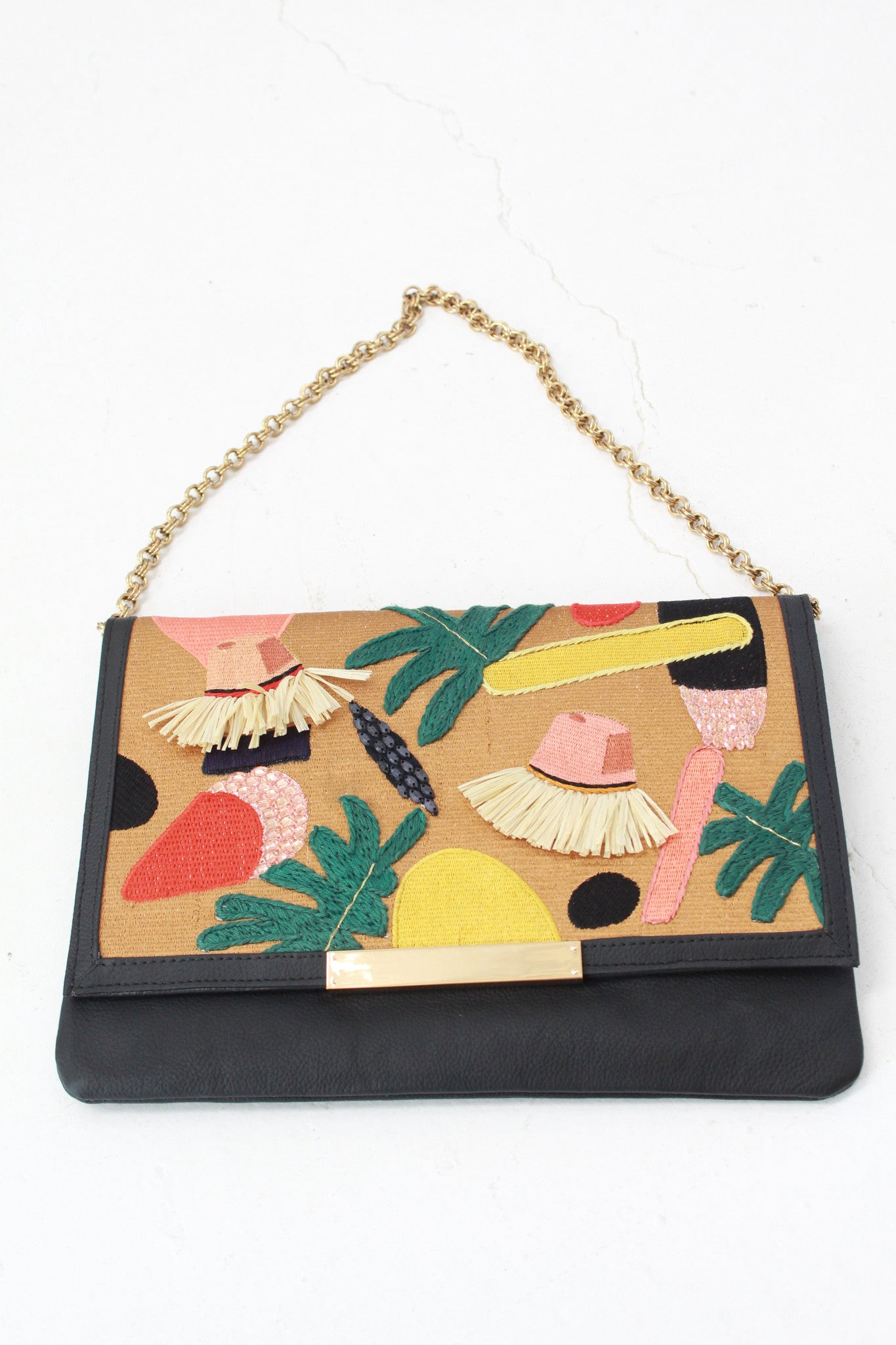 Beklina Lizzie Fortunato Port Of Call Clutch Explorers Club