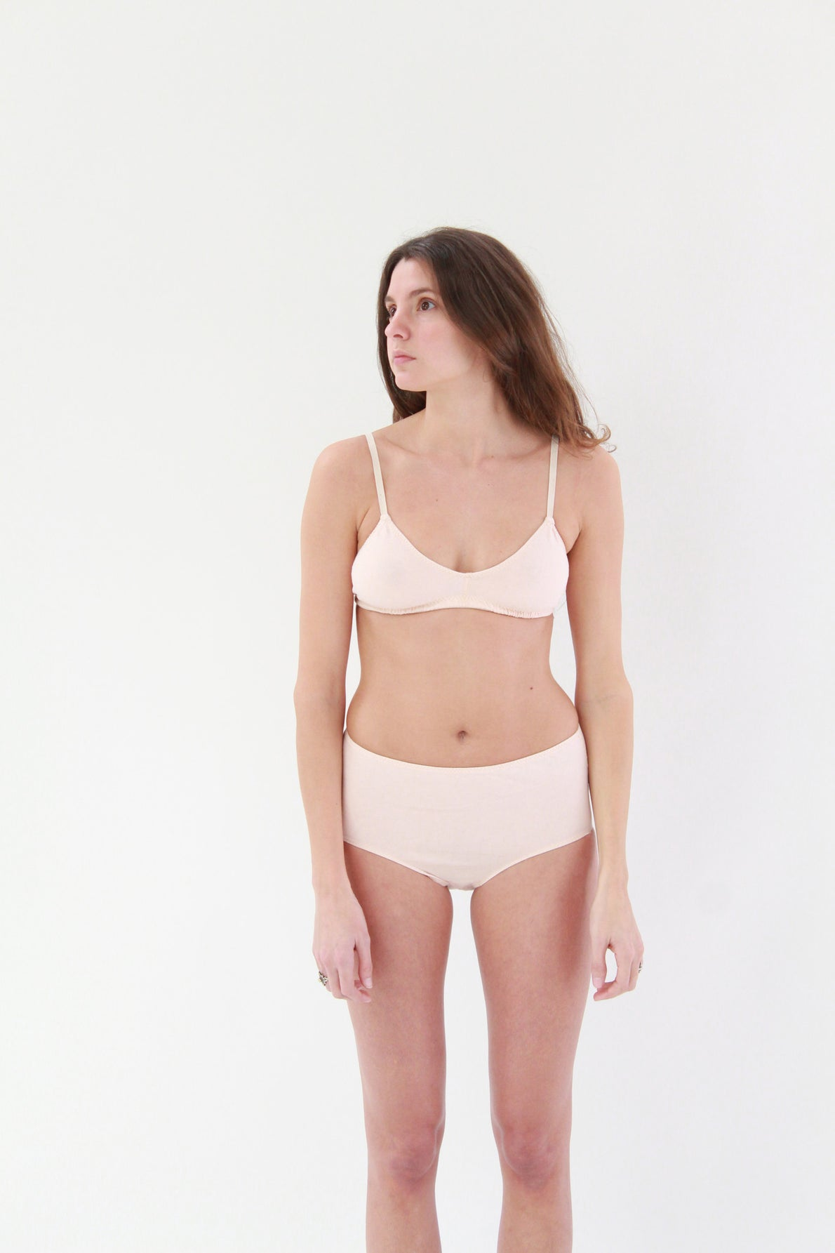 Beklina Pansy Organic Cotton Bra Rose