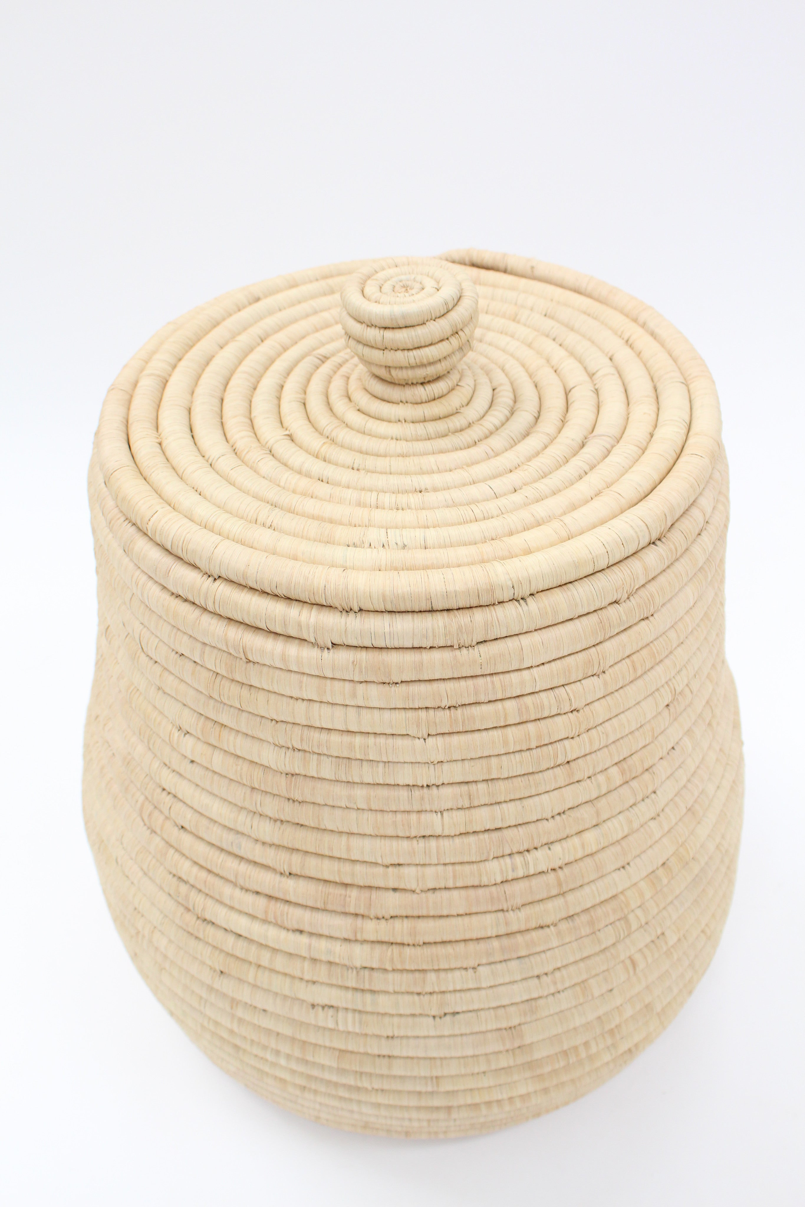 Beklina Oversized Lidded Basket