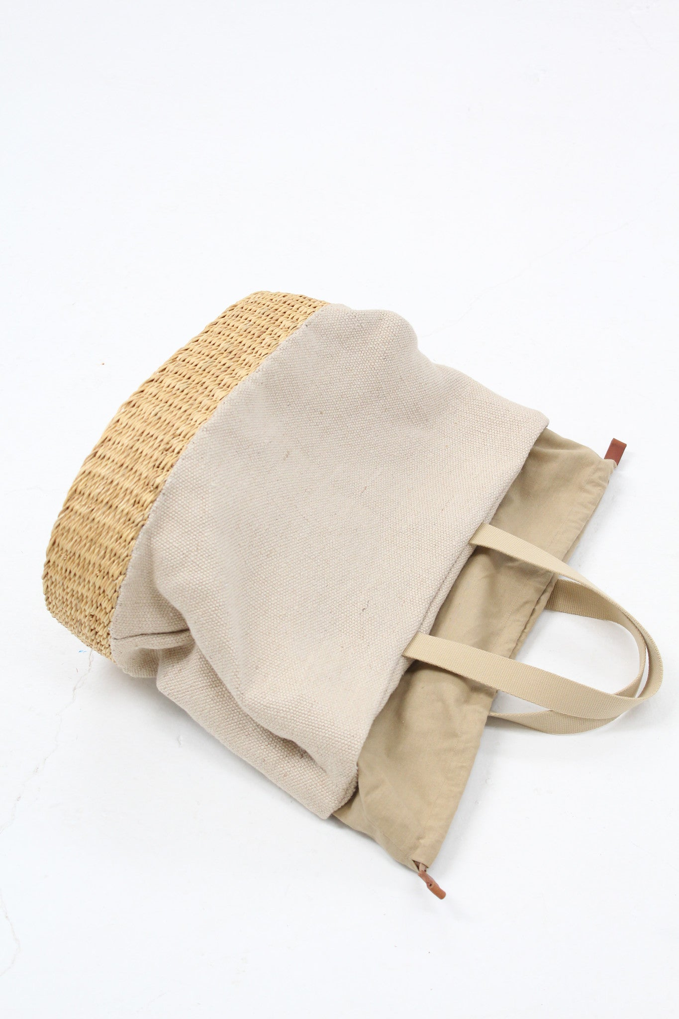 Muun Straw Natural Combo Bag