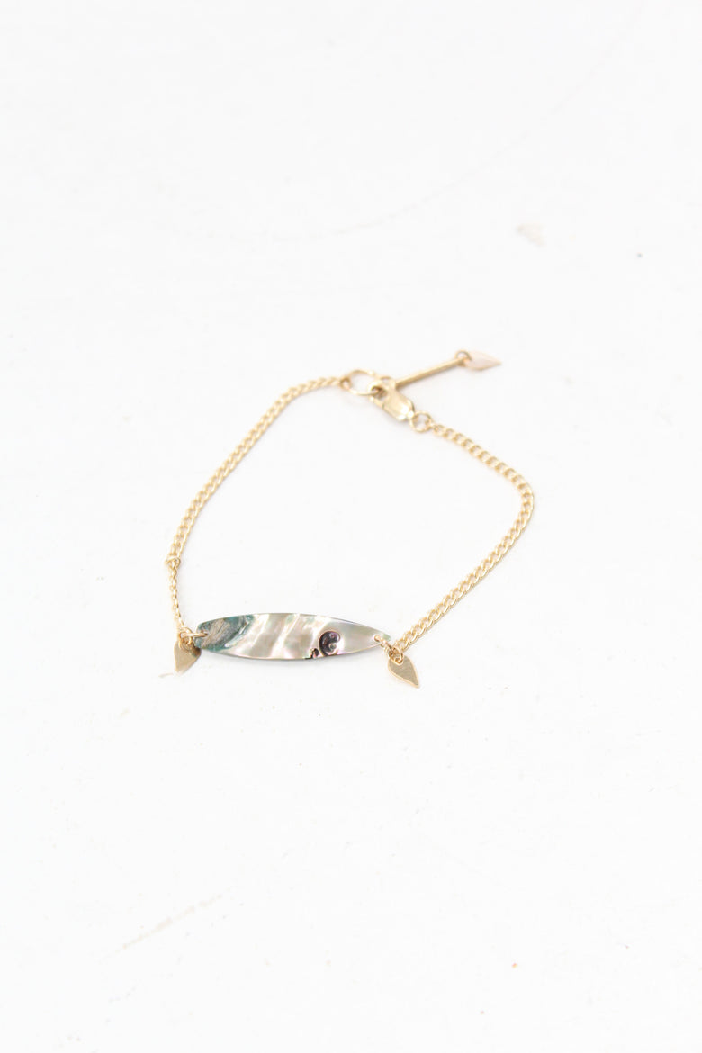 PG Shell Bracelet Gold