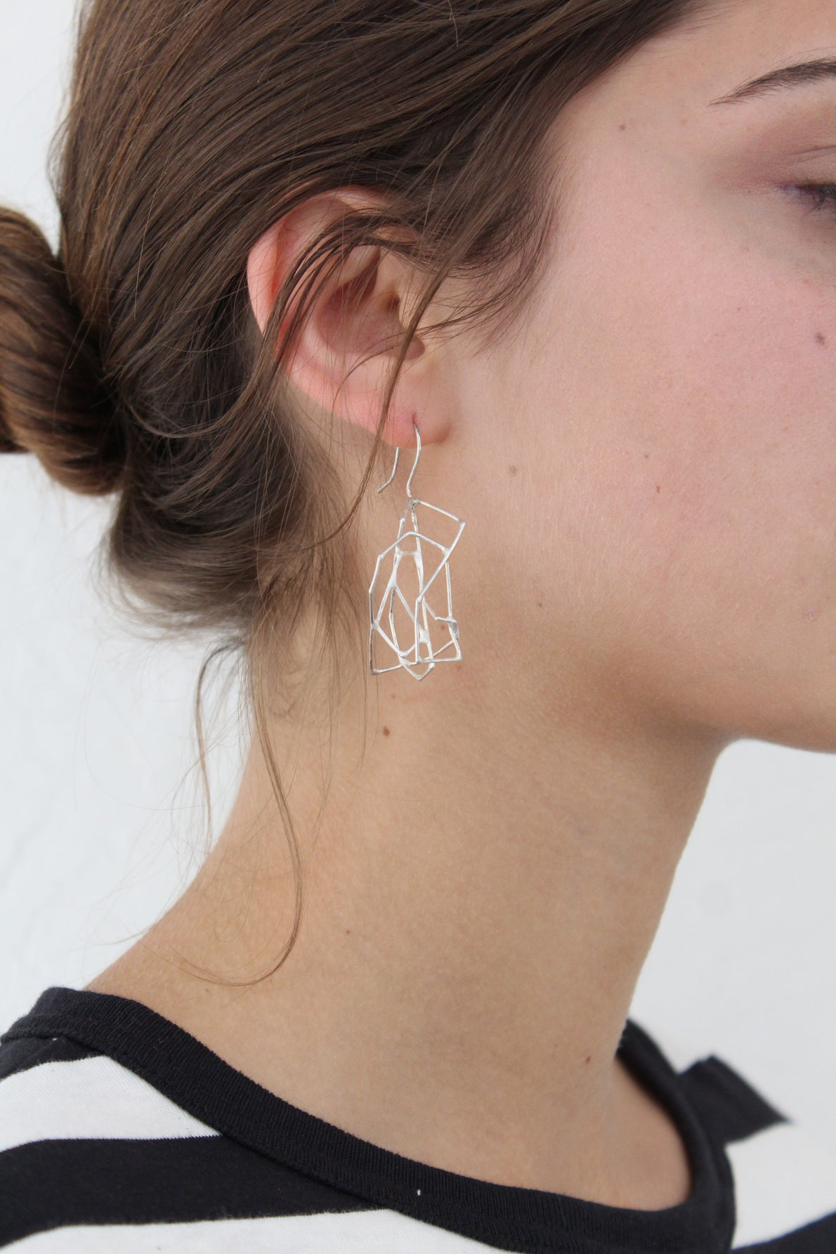 Beklina Constellation Earrings Silver