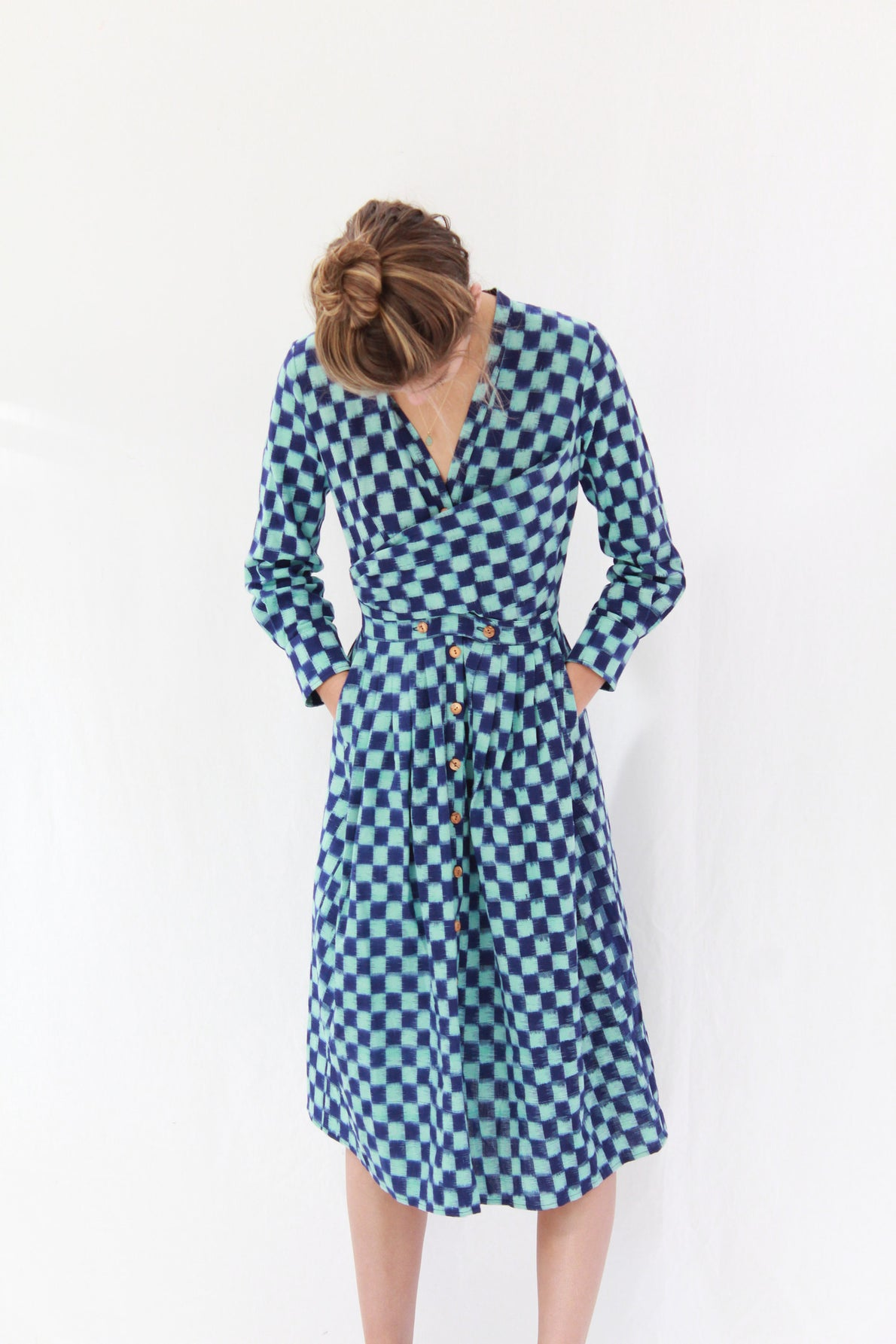 Beklina Heinui Octave Dress Ikat