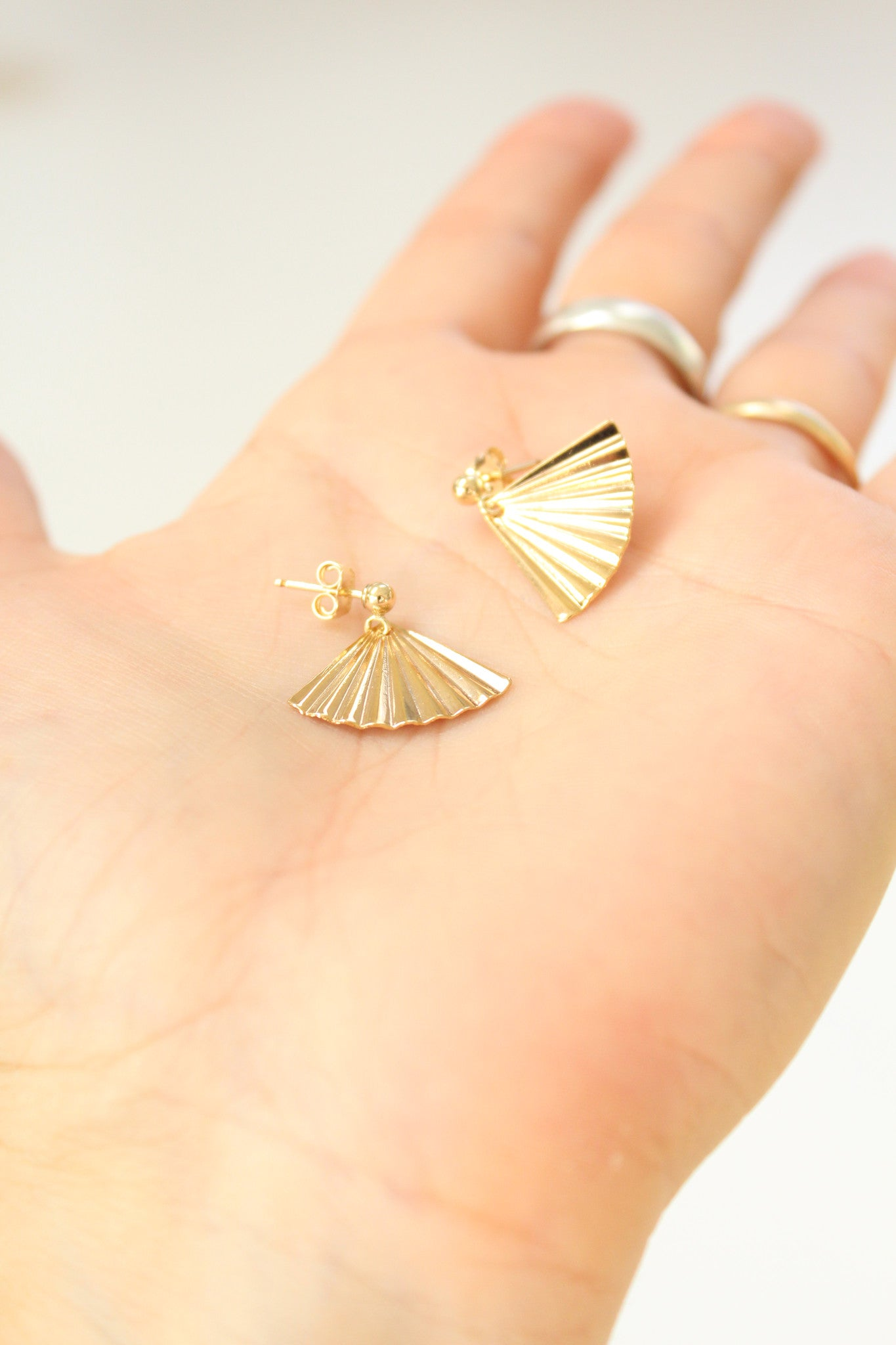 Beklina PG Palm Earrings