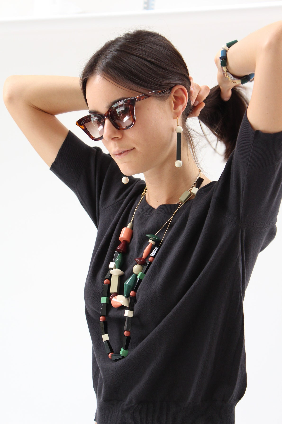 Apres Ski Wooden Necklace Esprit / Beklina