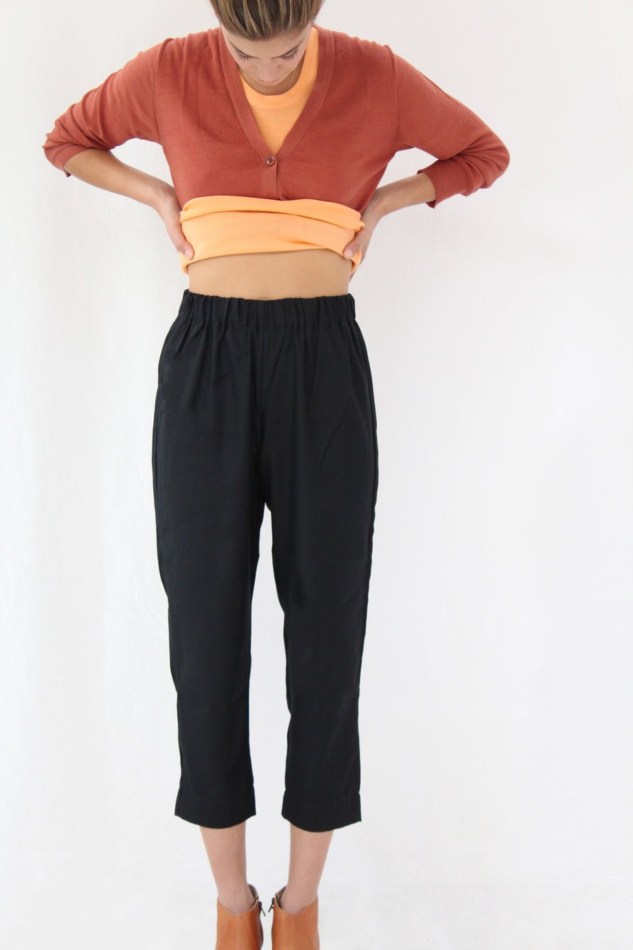 Beklina Basic Pant Black