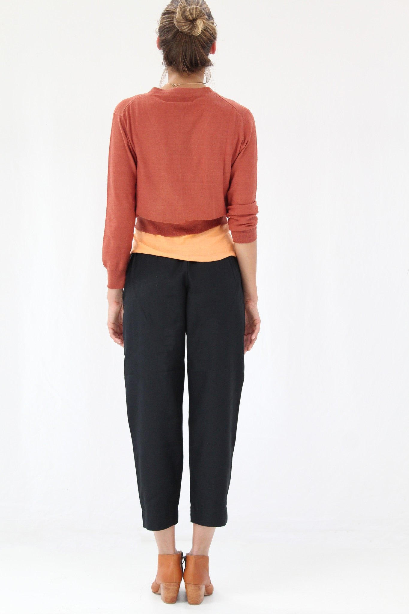 Lina Rennell Basic Pant Black