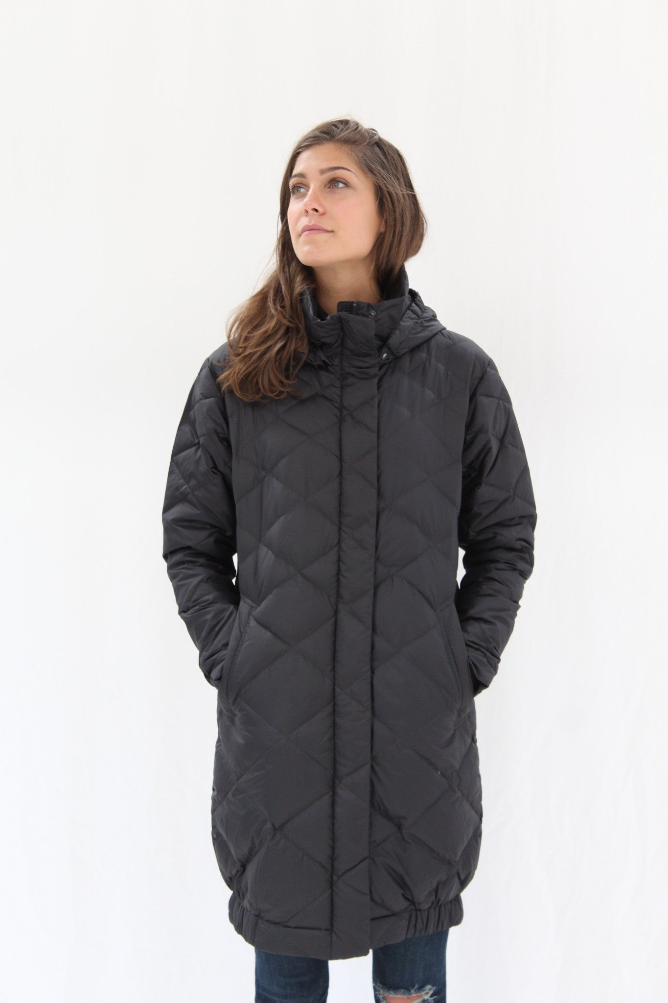 Nau Down Cocoon Trench Black