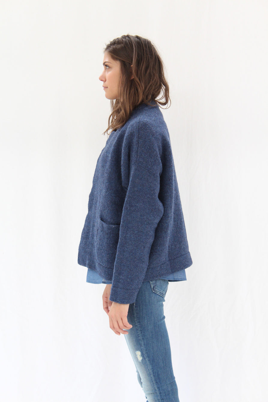 Lauren Manoogian Pea Coat Denim