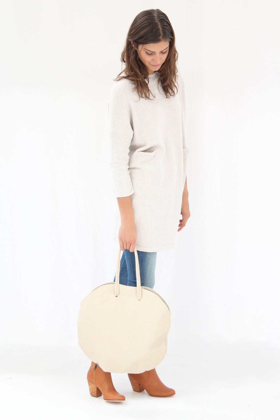 Erin Templeton Moon Bag Bone