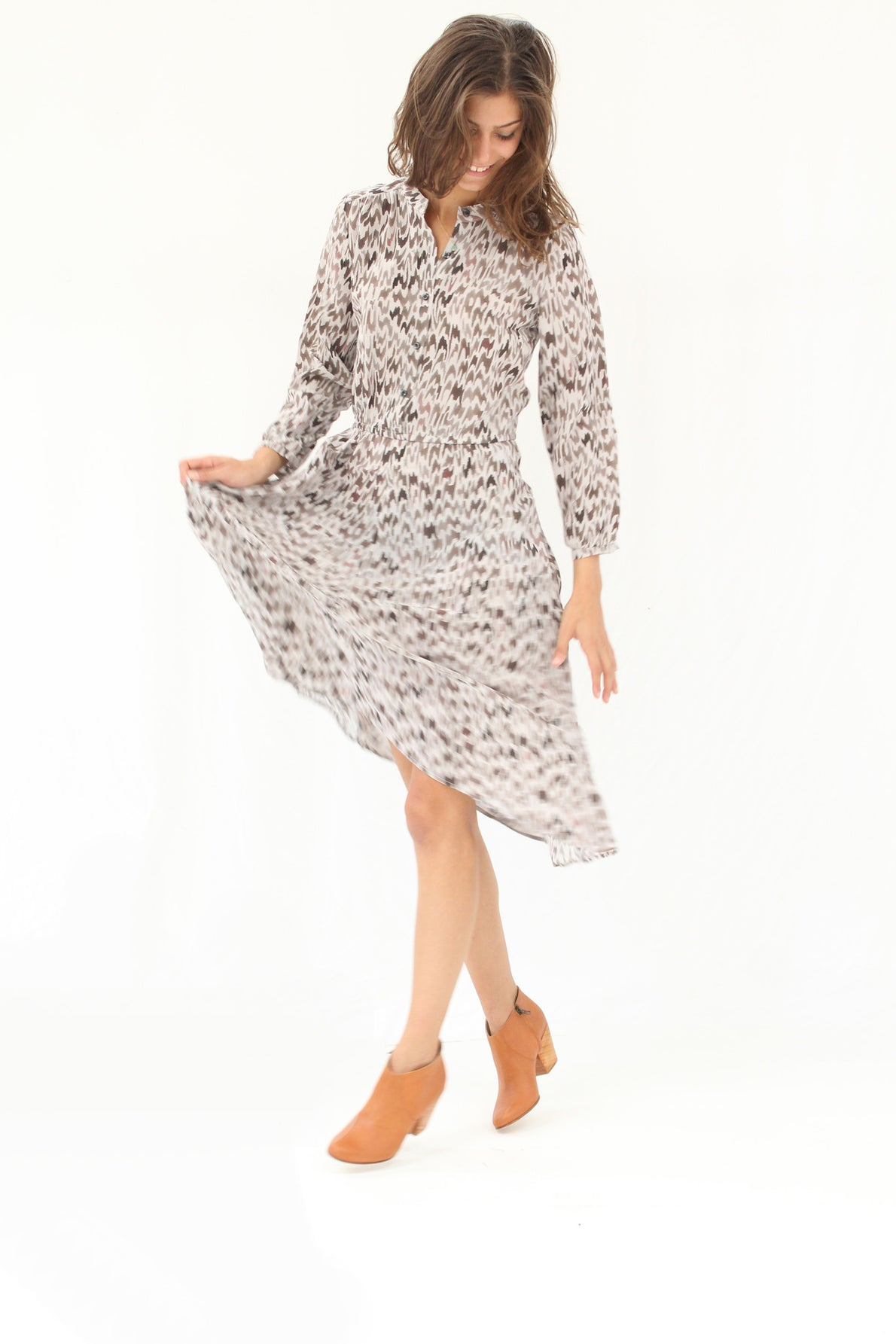 Beklina / Podolls Rowan Dress Hazel Silk
