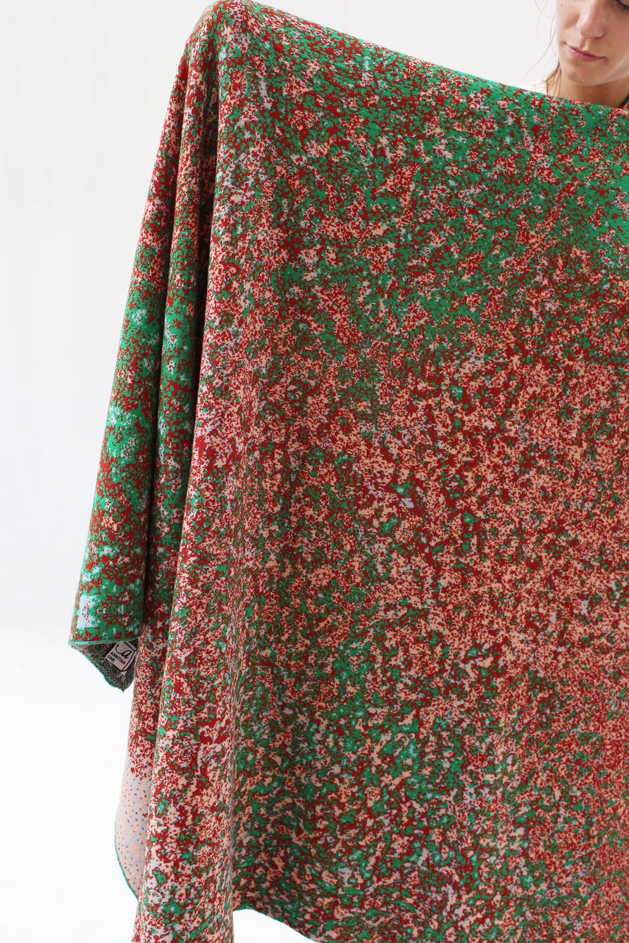 BEKLINA Anntian Big Knit Blanket Sediment