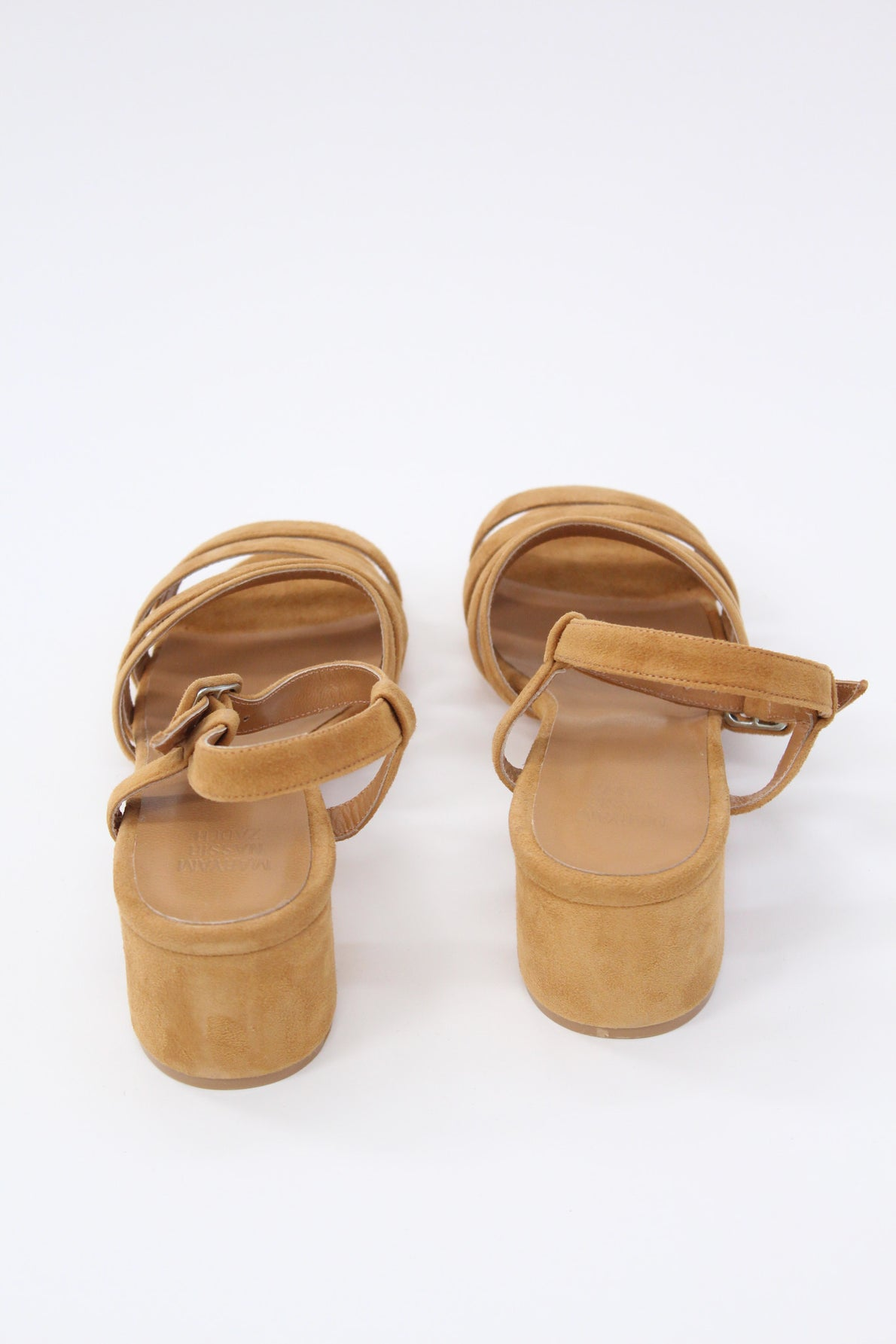 Maryam Nassir Zadeh Palma Low Heel Brown Suede