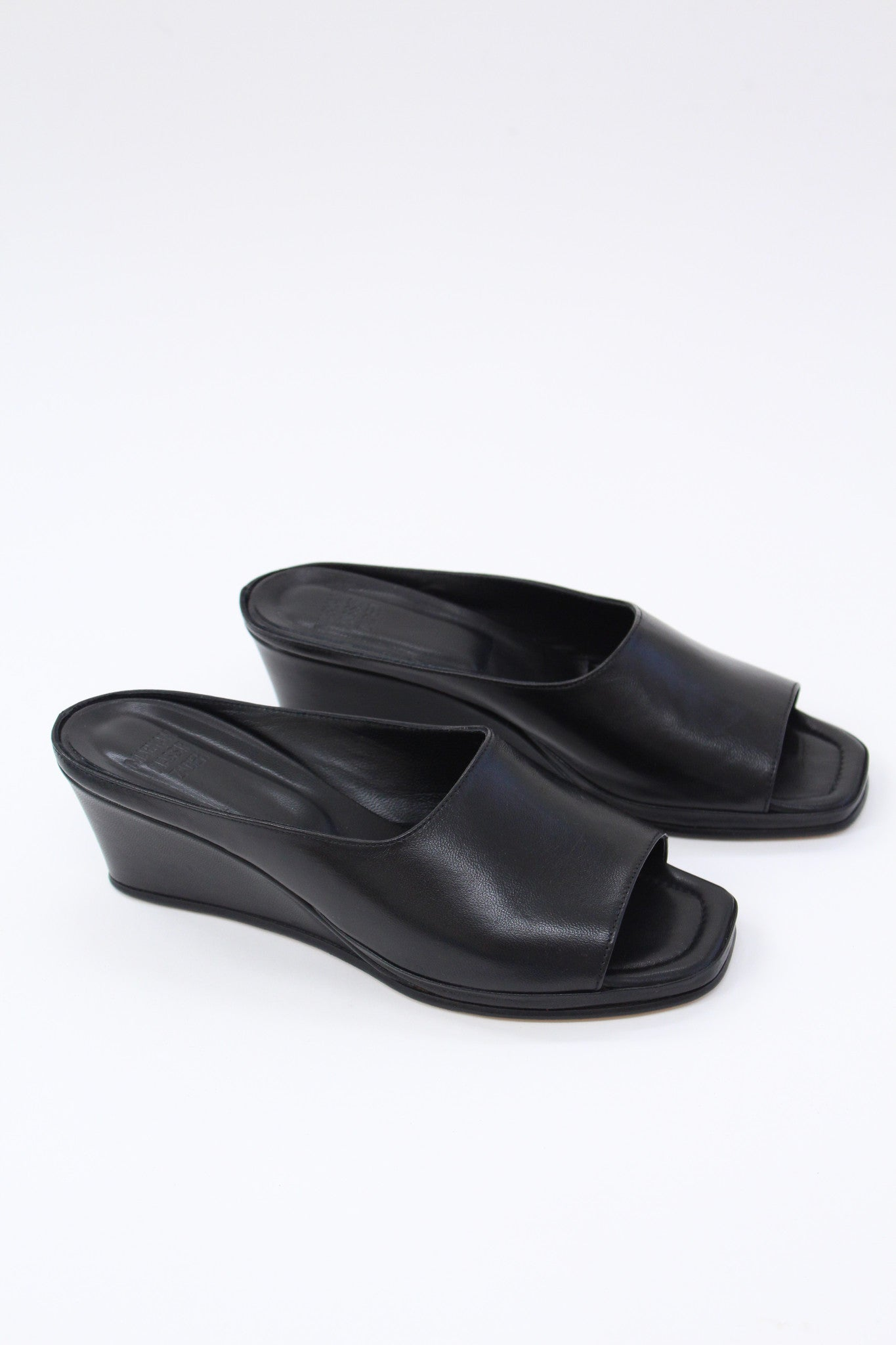 Maryam Nassir Zadeh Yves Wedge Black