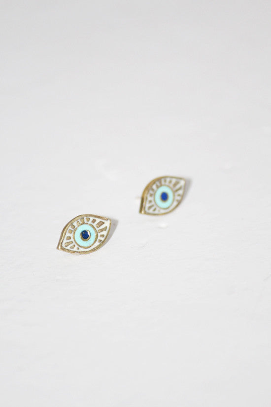 Kathryn Bentley Evil Eye Studs