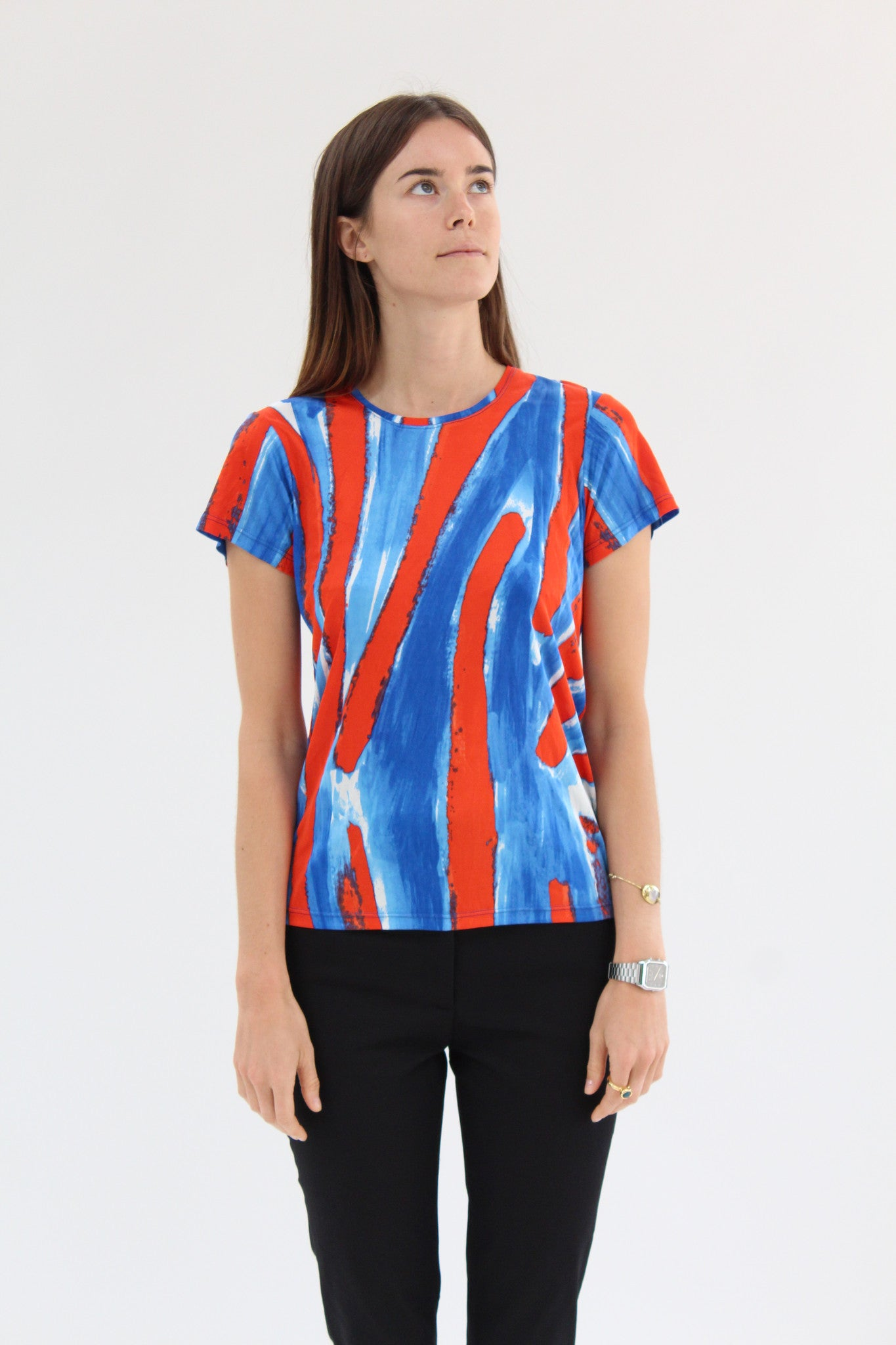 Rachel Comey Picket Tee Canter Stripe / BEKLINA