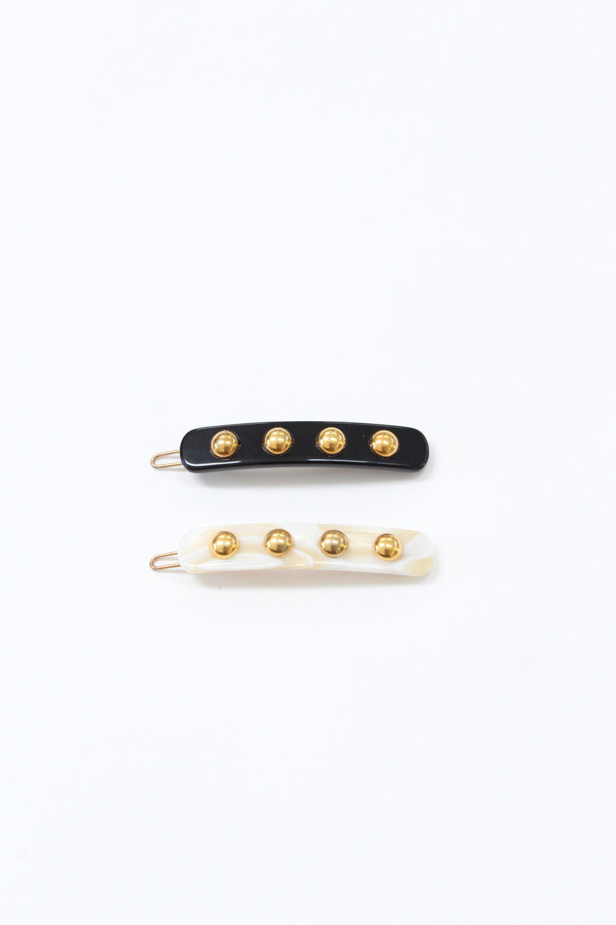French Stud Barrette / Beklina