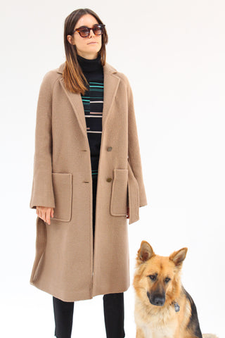Taos Wrap Coat Camel