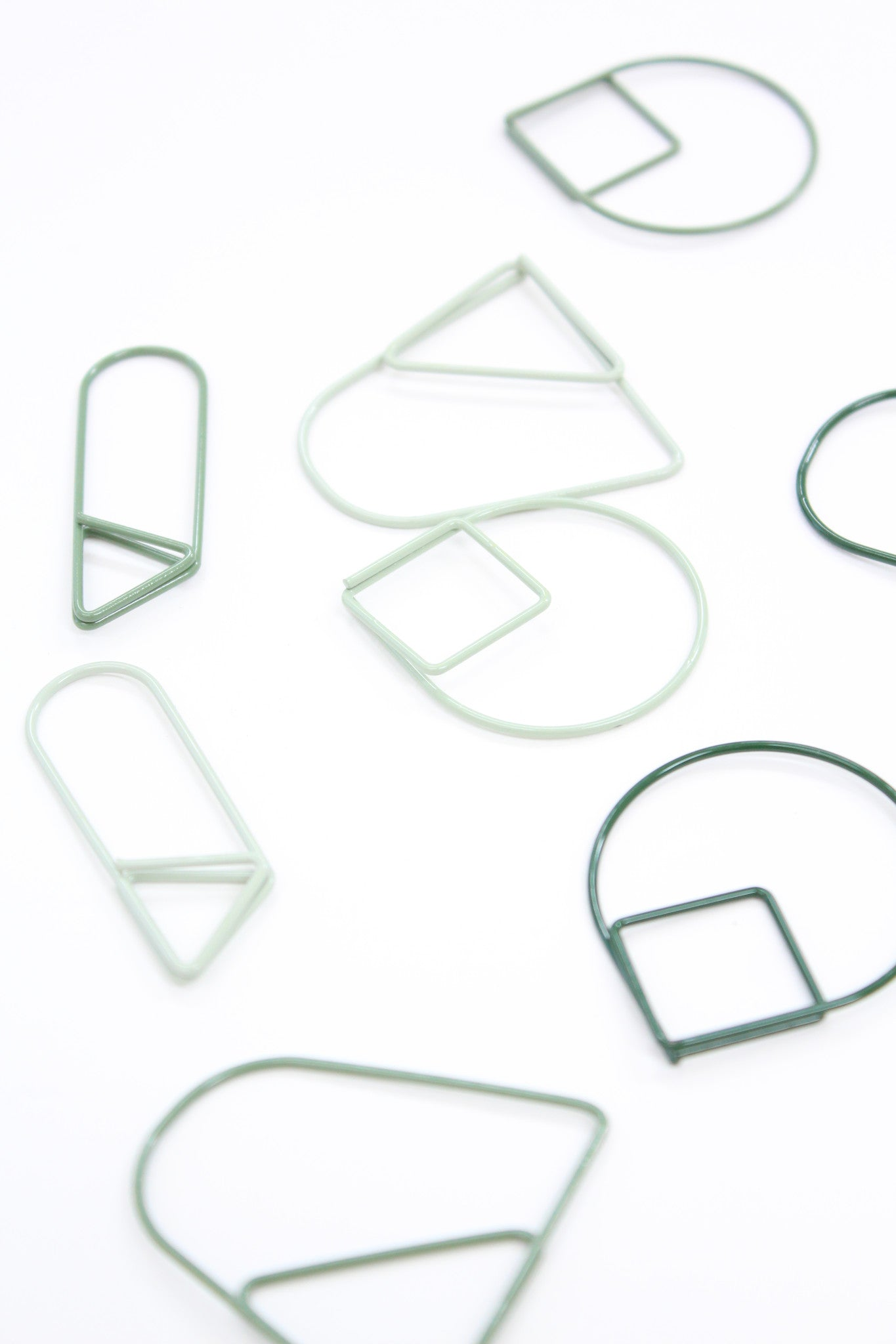 Beklina Paper Clips Big & Green
