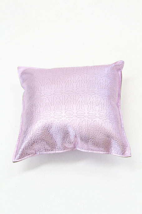 Beklina Metallic Lavender Pillow Corwin