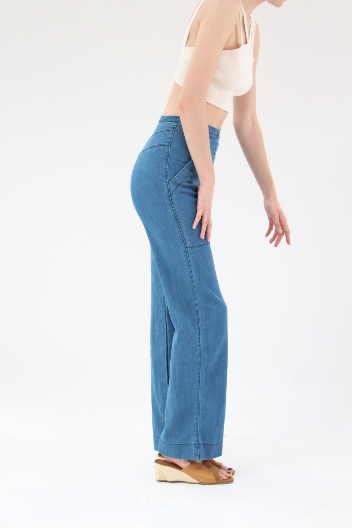 Prairie Underground Yr Arrow Pants Blue Wash Succulant / Beklina