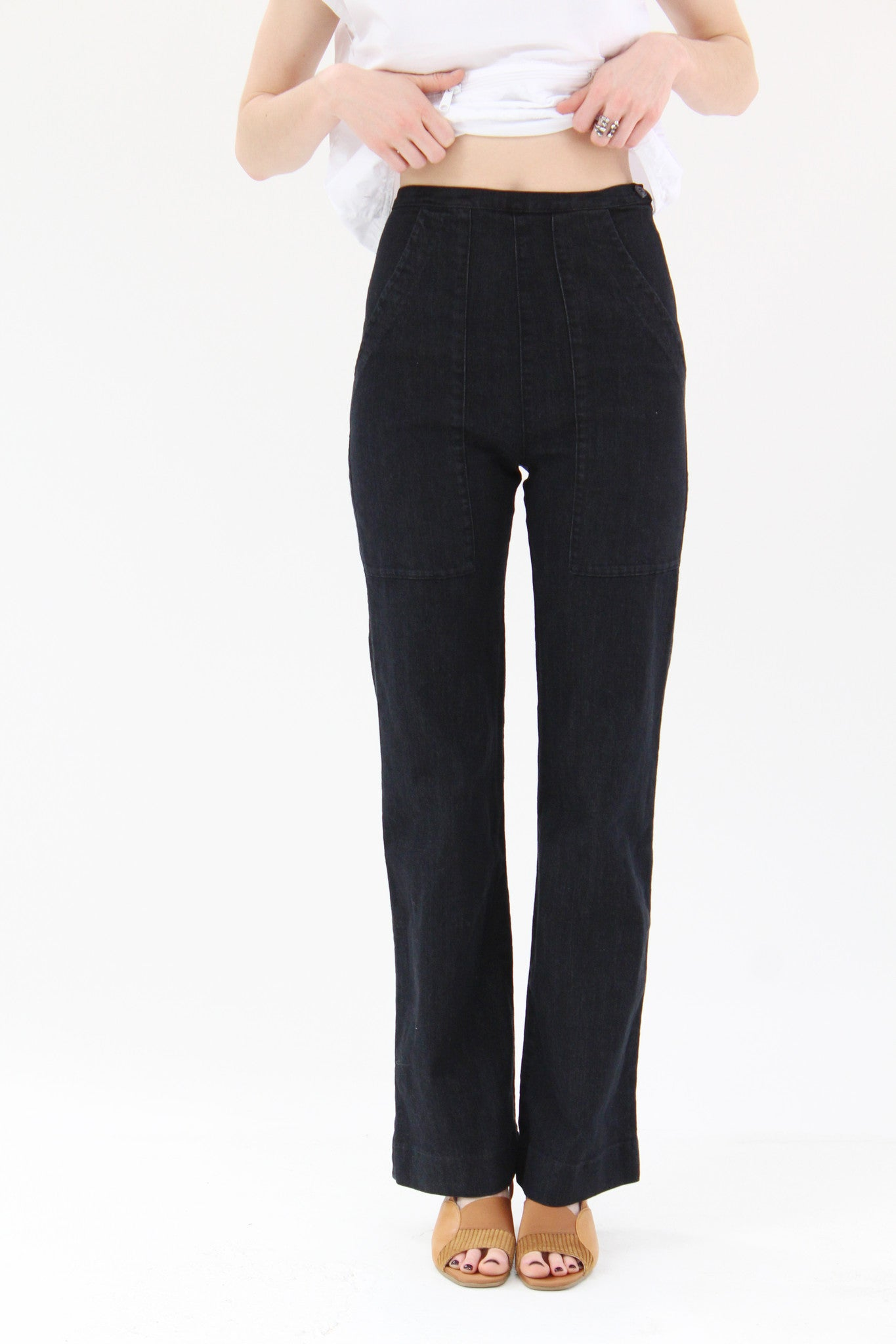 Prairie Underground Yr Arrow Pants Black / Beklina