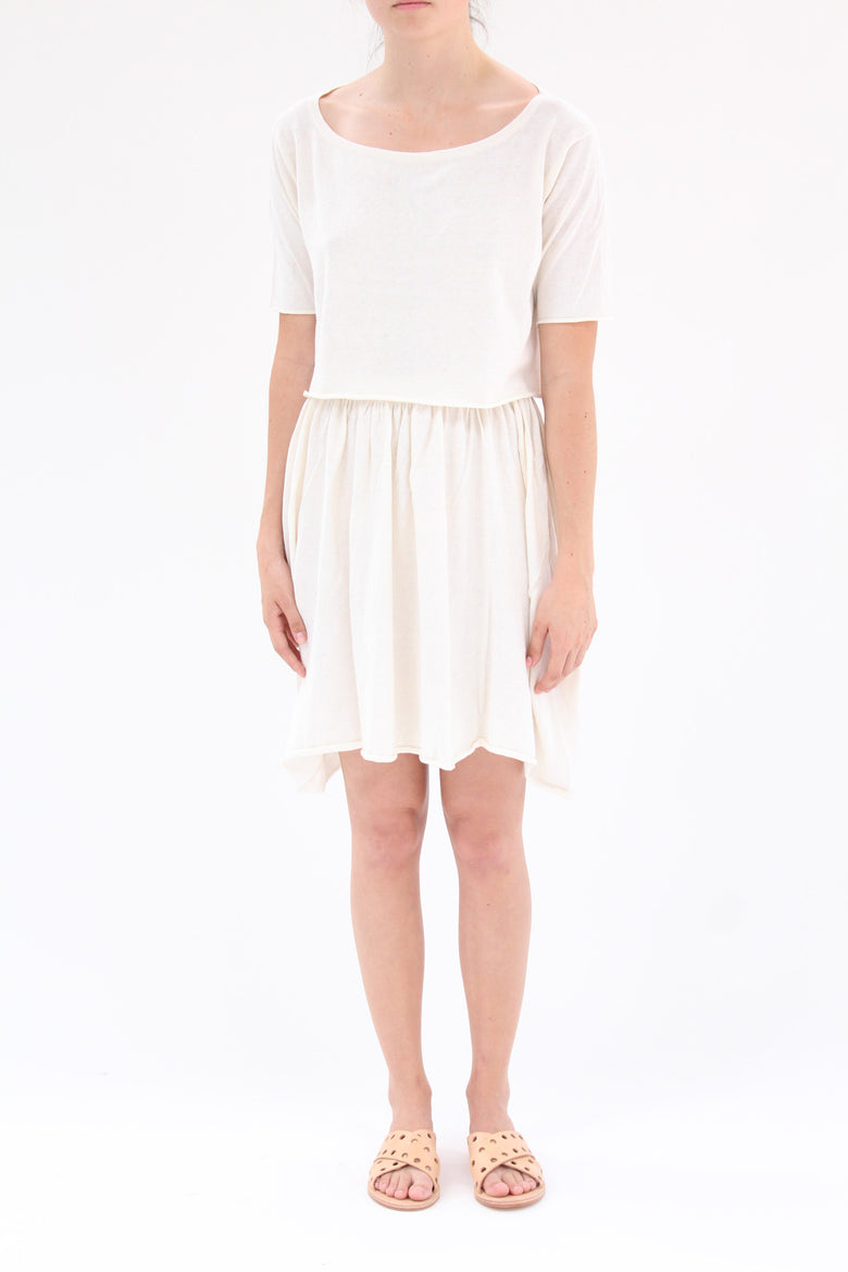 Lina Rennell Detached Dress Ivory