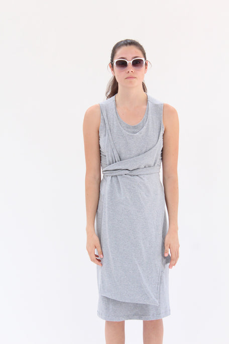 Lina Rennell Jersey Wrap Dress