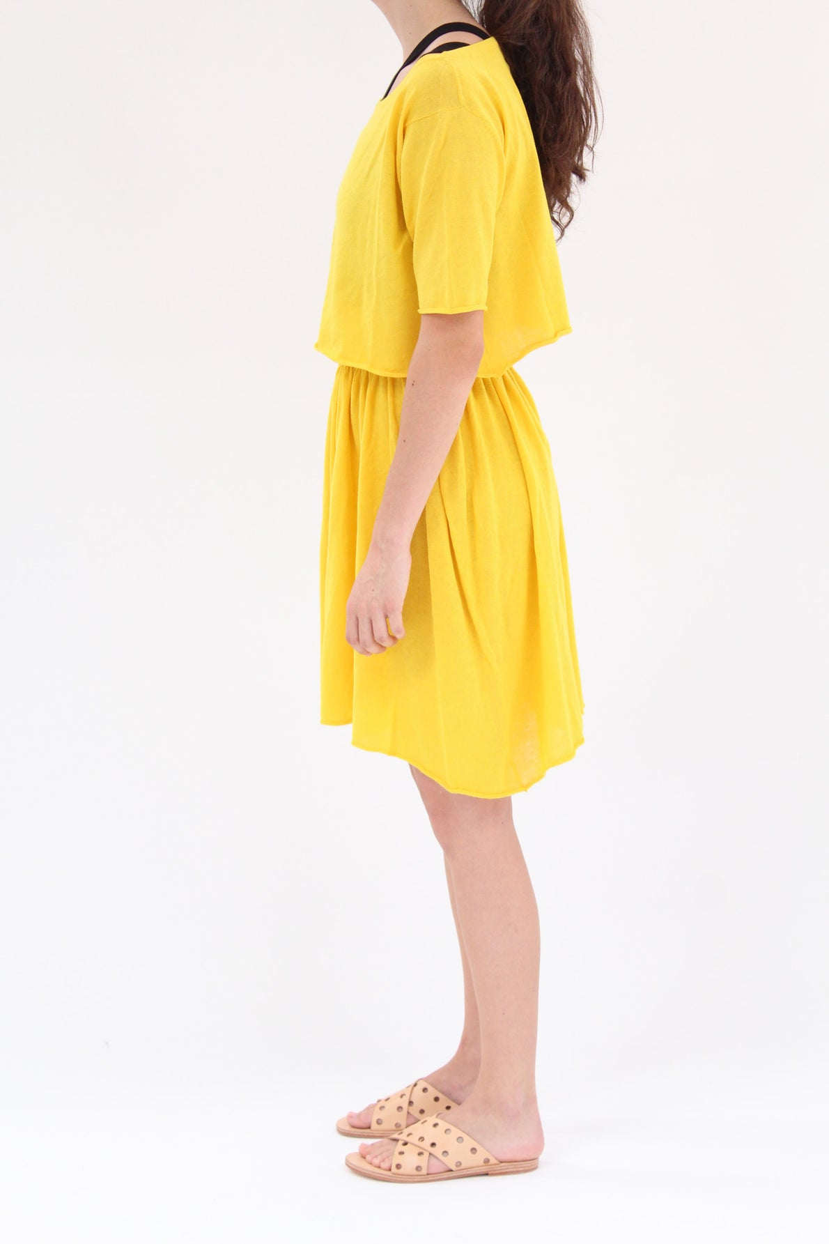 Lina Rennell Detached Dress Turmeric