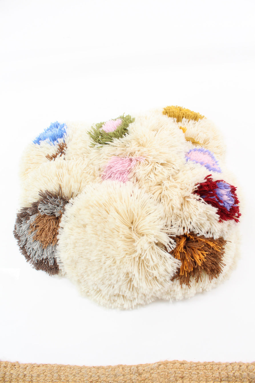 Beklina Alpaca Handmade Fringe Pillows A9