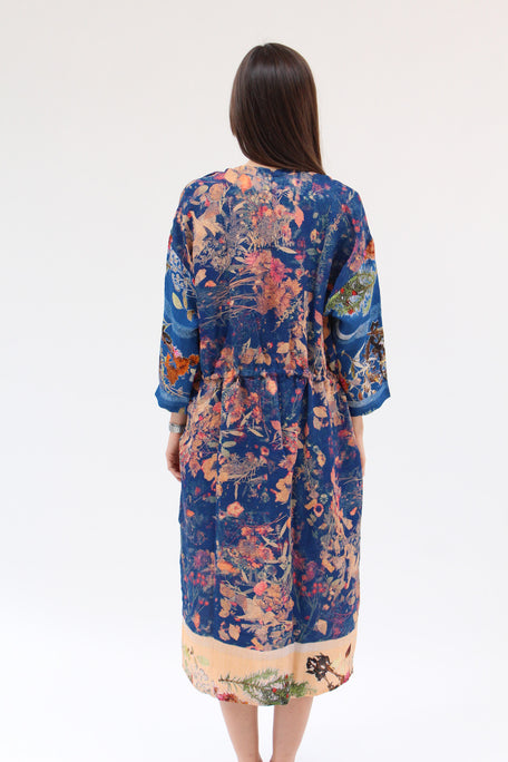 Anntian Simple Dress Print D / Beklina