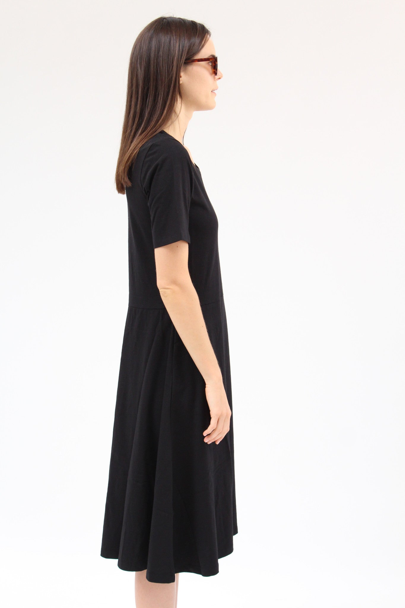 Kowtow Composure Dress Black / Beklina