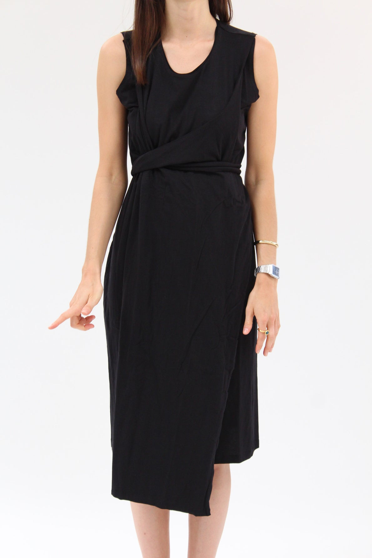 Kowtow Envelope Dress Black / Beklina