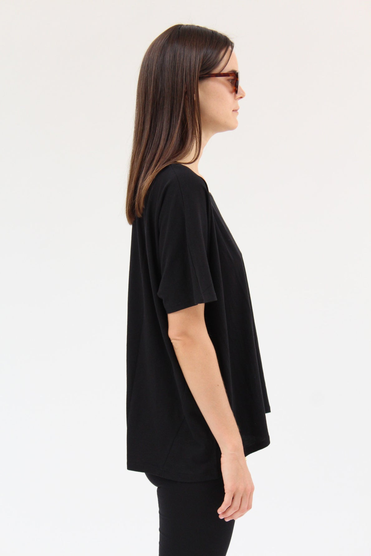 Kowtow Building Block Oversized Tee Black