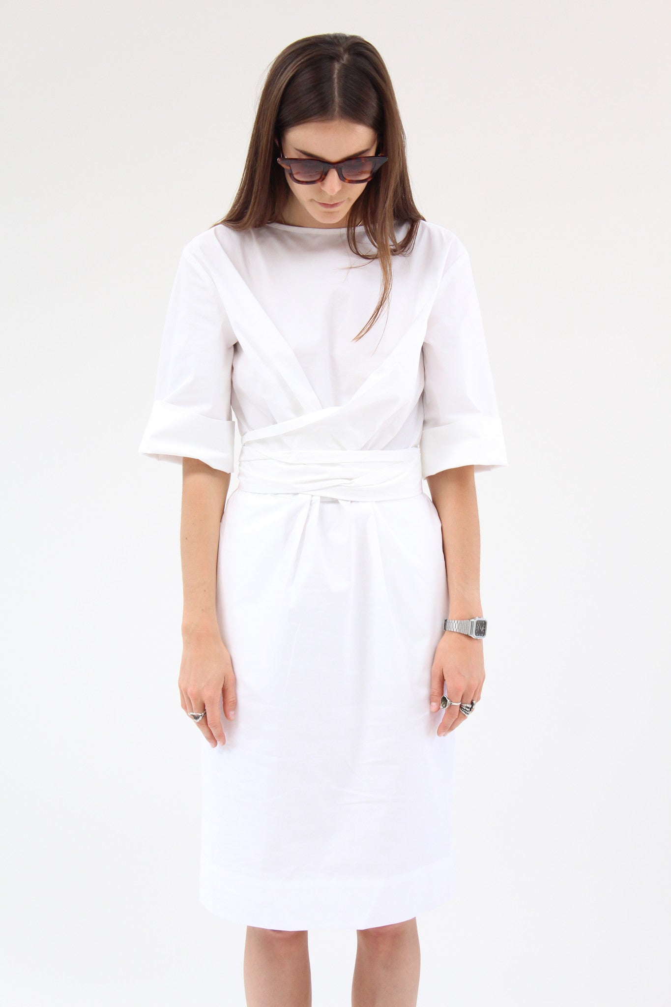 Gary Bigeni Harper Dress White / Beklina