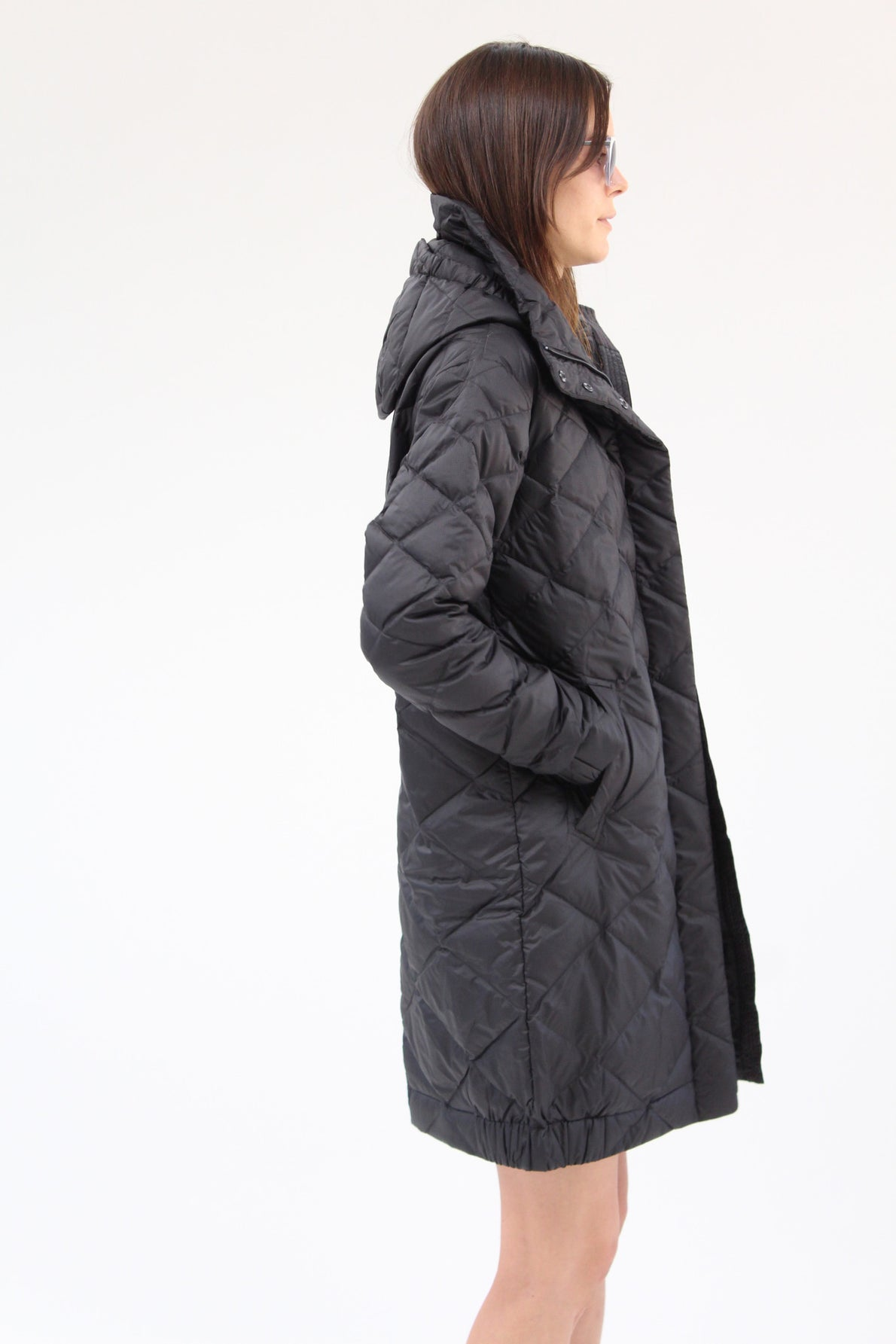 Nau Down Cocoon Trench Black / Beklina