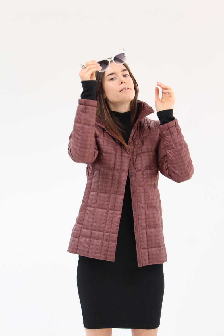 Nau Down Shirt Jacket Redwood / Beklina