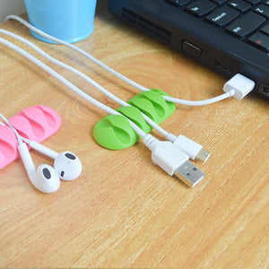 Cable Protector Winder Earphone Cable Cover Protect Case Wire Organizer Holder For IPhone 7 8 X Plus Earphone