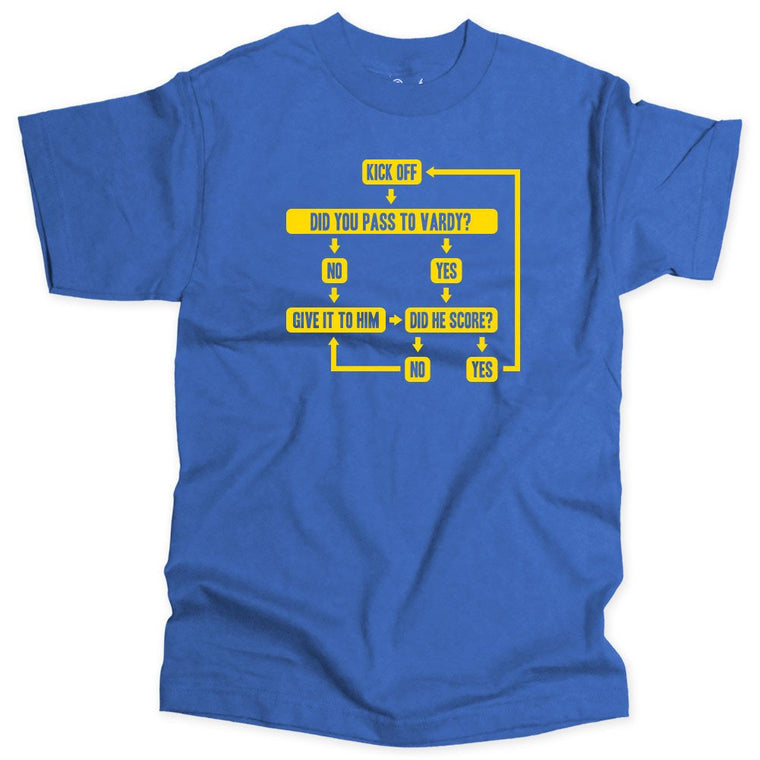 LEI - Leicester Tactics Soccer T-shirt - Who Are Ya
