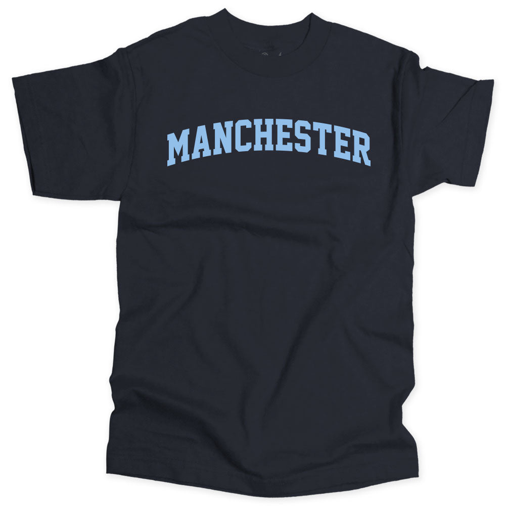 Manchester City T-shirt - Collegiate Type