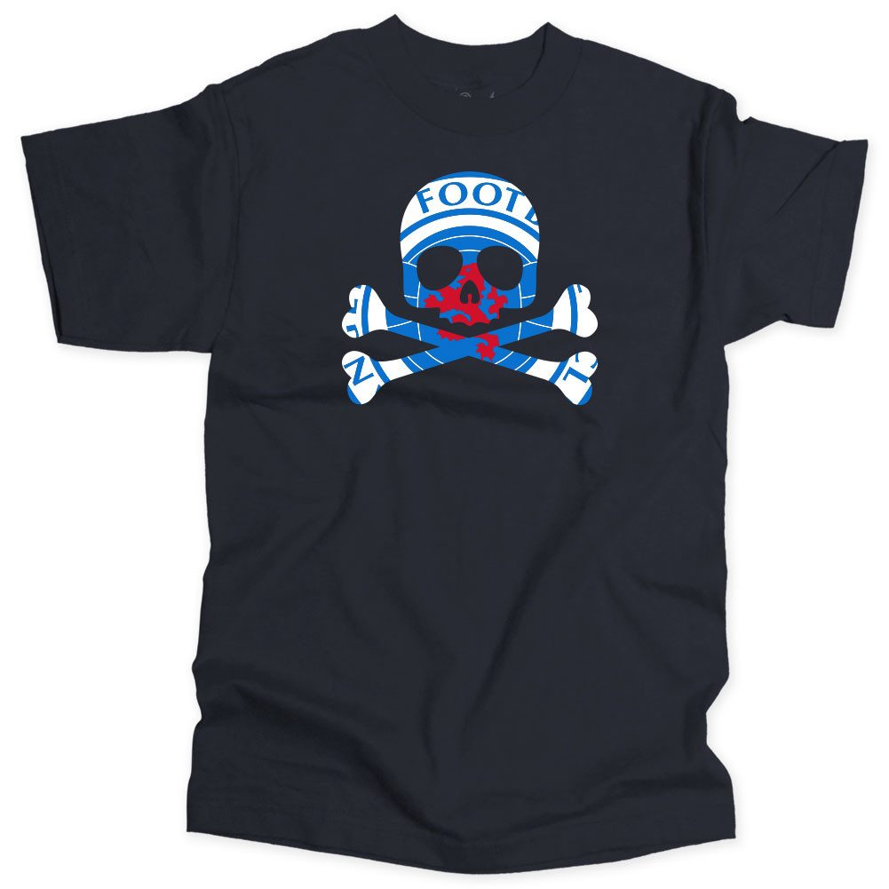 RNG - Gers Skull & Crossbones Soccer T-shirt - Who Are Ya