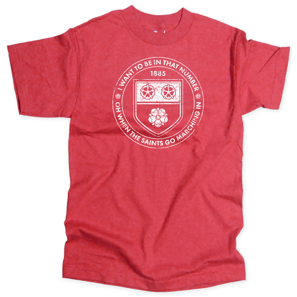 SH - Saints Go Marching In Soccer T-shirt - Who Are Ya