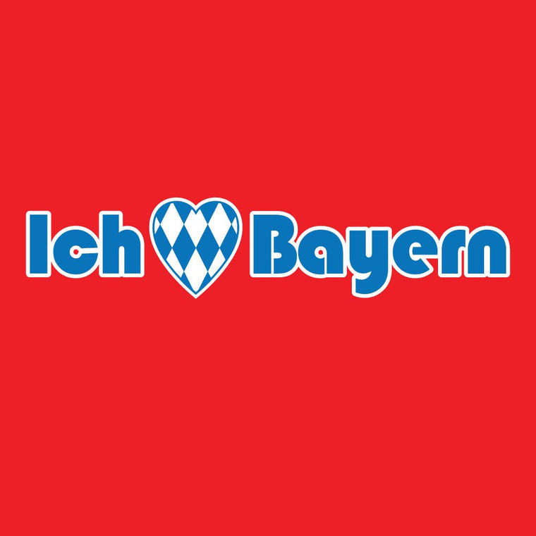 BAY - I Love Bayern Soccer T-shirt - Who Are Ya