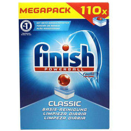Finish Classic Dishwashing Tablets Regular 110 Pack